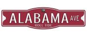 "Alabama Crimson Tide ""Roll Tide"" 10cm x 43cm Street Sign NCAA"
