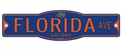 Florida Gators 10cm x 43cm Street Sign NCAA