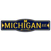 Michigan Wolverines 10cm x 43cm Street Sign NCAA