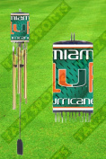 MIAMI HURRICANES NCAA WIND CHIME - BY TAGZ SPORTS