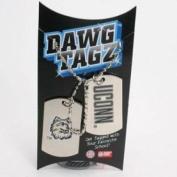 Uconn Huskies Dawg Tagz - Military Style Dog Tags