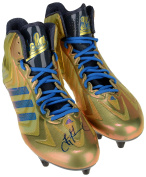 Troy Aikman UCLA Bruins Autographed Adidas Football Cleats - COA - JSA Certified - College Autographed Miscellaneous Items
