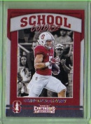 2017 Panini Contenders Draught Picks School Colours #7 Christian McCaffrey - Rookie Year