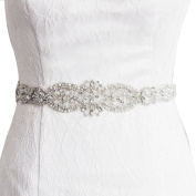 Kunlai Bridal Sash Belt,Wedding Belt,Bridal Dress Belt