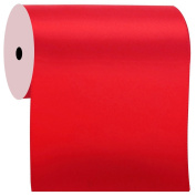 Duoqu 10cm Wide Red Double Face Satin Ribbon Great for Chair Sash 5 Yard/Spool