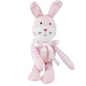 JJOVCE Baby Sleeping Comfort Plush Animal Toy Smooth Obedient Animal Sleep Calm Doll