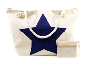 Beach Bags Big for Women with Zip Canvas Tote Bag XXL Shopper, Different Models and Colours