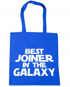 HippoWarehouse Best Joiner in the Galaxy Tote Shopping Gym Beach Bag 42cm x38cm, 10 litres