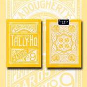Tally Ho Reverse Fan Back (yellow) Limited Ed. By Aloy Studios / Uspcc
