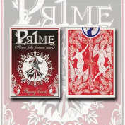 Pr1me Series001 Deck (red) By Max Magic & Stratomagic - Collectable Poker Cards