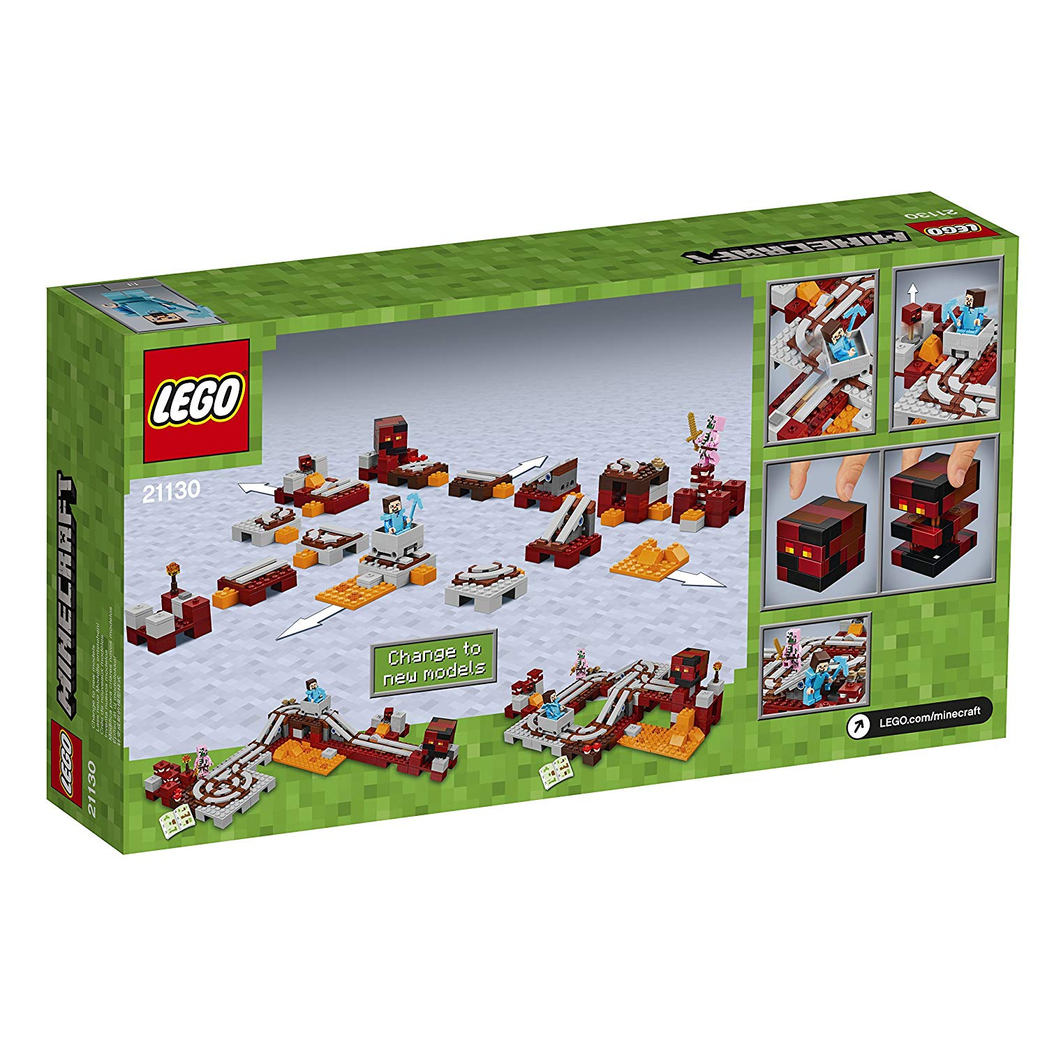 21130 The Nether Railway By Lego Shop Online For Toys In Singapore