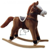 Supreme Baby Alfie Rocking Horse With Farmer Song/galloping Sounds/moving Mouth