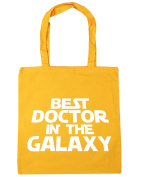 HippoWarehouse Best Doctor in the Galaxy Tote Shopping Gym Beach Bag 42cm x38cm, 10 litres