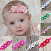 Baby Girls Flower Hairband Soft Elastic Headband Gifts Hair Accessories Band