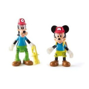 Mickey Mouse Clubhouse Mickey And Goofy Figures - 181878 From Debenhams