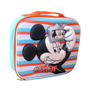 Official Disney Mickey Mouse Boys Selfie 3d Eva School Lunch Insulated Bag New