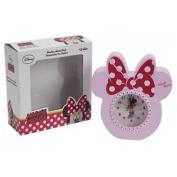 Minnie Disney Réveil - Mouse Rose Horloge En Bois Kids Girls Official Cadeau