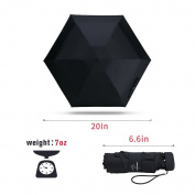 Nooformer Travel Mini Umbrella - Compact Lightweight Waterproof Parasol & Sun Umbrella with 95% UV Protection make it an Ideal Gift
