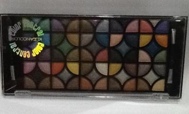 Color Central Kleancolor Eye Shadow palette