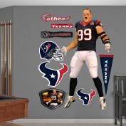 Fathead NFL Houston Texans J.J. Watt Entrance Wall Decal