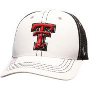 Zephyr NCAA Whiteboard Hat, Texas Tech, Adjustable