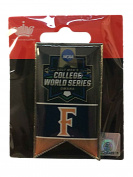 Cal State Fullerton Titans 2017 NCAA Men's College World Series Banner Lapel Pin
