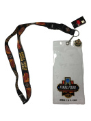 """2017 Men's Final Four Lanyard w/ Ticket Holder & """"I Was There"""" Pin"""