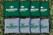 8 Babson Beavers Regulation Cornhole Bags