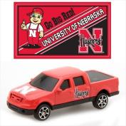 Upper Deck Diecast F150 With Mascot Sticker - NCAA University Of Nebraska