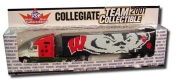 University of Wisconsin Badgers 2001 Limited Edition Die-Cast 1:80 Tractor-Trailer Semi Truck Collectible