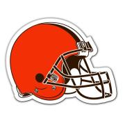 NFL Cleveland Browns Vinyl Magnet, One Size, Orange