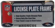 Denver Broncos Triple Chrome Licence Plate Frame 11276