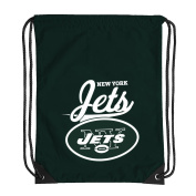 NFL New York Jets Team Spirit Backsack, Green, 46cm x 34cm