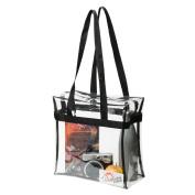 Standard NFL Stadium Approved Clear Tote Bag 30cm X 30cm X 15cm See Thru Shoulder Purse