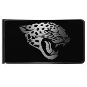 NFL Jacksonville Jaguars Black & Steel Money Clip