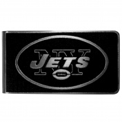 NFL New York Jets Black & Steel Money Clip