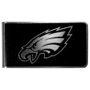 NFL Philadelphia Eagles Black & Steel Money Clip