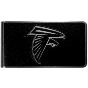 NFL Atlanta Falcons Black & Steel Money Clip