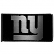 NFL New York Giants Black & Steel Money Clip