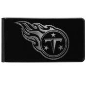 NFL Tennessee Titans Black & Steel Money Clip