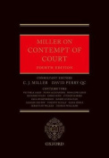 Miller on Contempt of Court