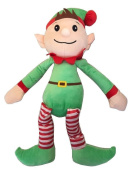 New Made By Elves Christmas Xmas Elf Kids Soft Plush Cuddly Toy