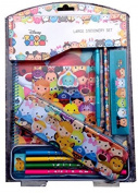 Disney Tsum Tsum Stationery Bumper Set Pencil Kids Children School Pencils
