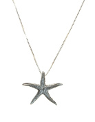 Sterling Silver Sea Star Necklace