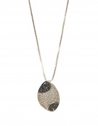 Sterling Silver Two-Tone Necklace