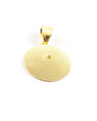 18ct Gold Filigree Corbula Pendant