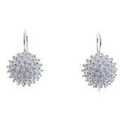 Sterling Silver Blackberry Earrings