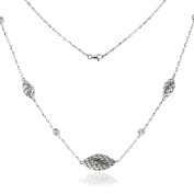 Gioiello Italiano - 14kt white gold necklace