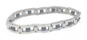 Gents Magnetic Stainless Steel and Titanium Bracelet Gift Boxed