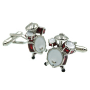 RXBC2011 Quality musicians drum kit Cufflinks Unique mens gift 1Pair Set